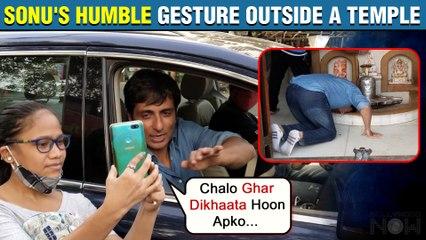 Sonu Sood's Sweet Gesture Towards Fans, 'Chalo Ghar Lekar Chalta Hoon' | Clicks Selfie With Fans
