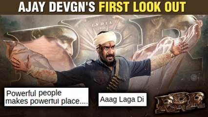 Ajay Devgn Reveals FIRST Look Motion Poster From RRR On His Birthday | Fans React