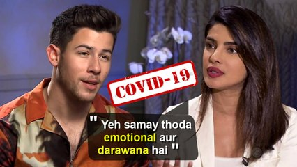 Priyanka Chopra SCARED For Nick & Her Family In London Due To Covid- 19