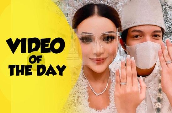 Video of The Day: Atta Halilintar dan Aurel Hermansyah Resmi Menikah