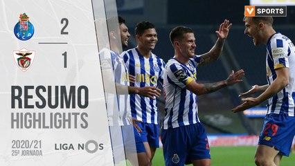 Highlights: FC Porto 2-1 Santa Clara (Liga 20/21 #25)