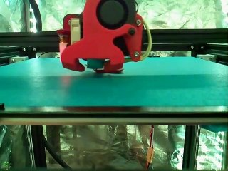 3D printed Ender 5 Front Crossbar Relocator Brackets [Time-Lapse]