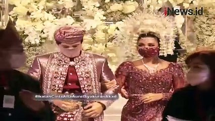 Ucapan Suka Cita Krisdayanti di Malam Tasyakuran Pernikahan Atta dan Aurel