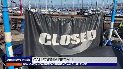 California governor faces possible recall over handling of pandemic