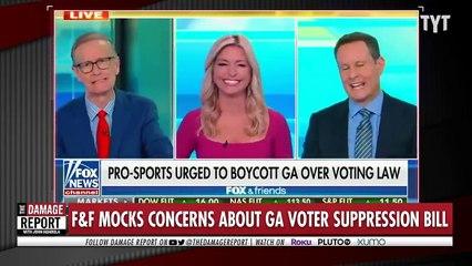 Fox MOCKS People Waiting in Line to Vote