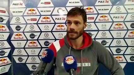 Thomas Raffl nach dem Sieg gegen Klagenfurt