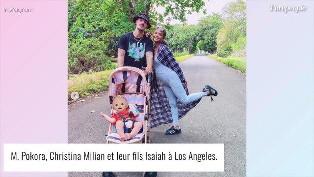 M. Pokora dévoile une photo de son fils d'Isaiah en pleine chasse aux oeufs de Pâques