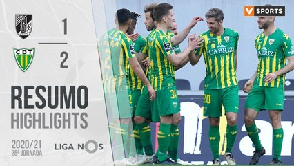 Highlights: Vitória SC 1-2 Tondela (Liga 20/21 #25)