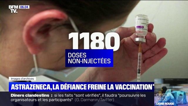 AstraZeneca: 550 doses de vaccin boudées ce week-end à Calais