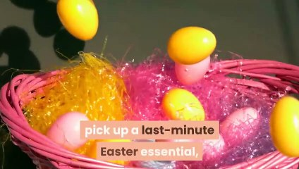 Are shops and supermarkets open on Easter Sunday