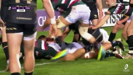 Leicester Tigers v Connacht Rugby - Round of 16 highlights