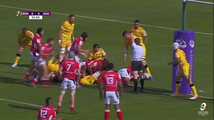 Benetton Rugby v Agen - Round of 16 Highlights