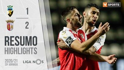 Highlights: SC Farense 1-2 SC Braga (Liga 20/21 #25)
