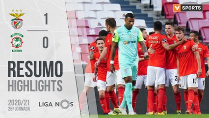 Highlights: Benfica 1-0 Marítimo (Liga 20/21 #25)