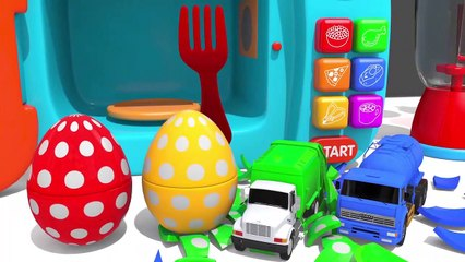 Learn Colors with Bunny Mold and Microwave Toy Street Vehicle Finger Family Song for Kids Children - Video Dailymotion