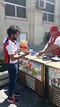 Status watsap turkish ice cream