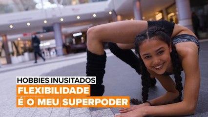 Hobbies Inusitados: A garota mais flexível do mundo