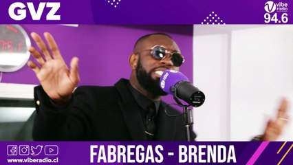 "FABREGAS chante "" BRENDA "" à Vibe Radio"