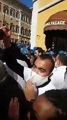 #IOAPRO - PROTESTA A ROMA - CAOS E SCONTRI - La rabbia di ristoratori, commercianti, palestre, etc.