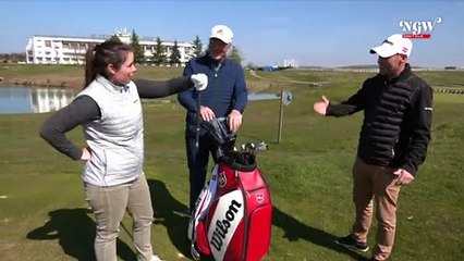 WILSON : Nicolas Roche à la National Golf Week Digitale