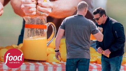 Desafio de espremer laranjas | Food Truck: A Grande Corrida | Food Network Brasil