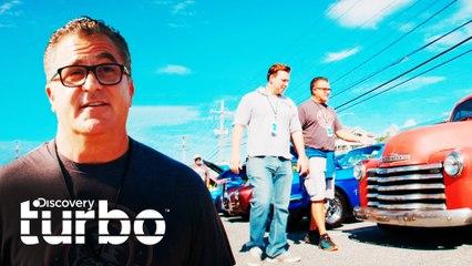 Andy se emociona en su exhibición de autos favorita | Chatarra de oro | Discovery Turbo