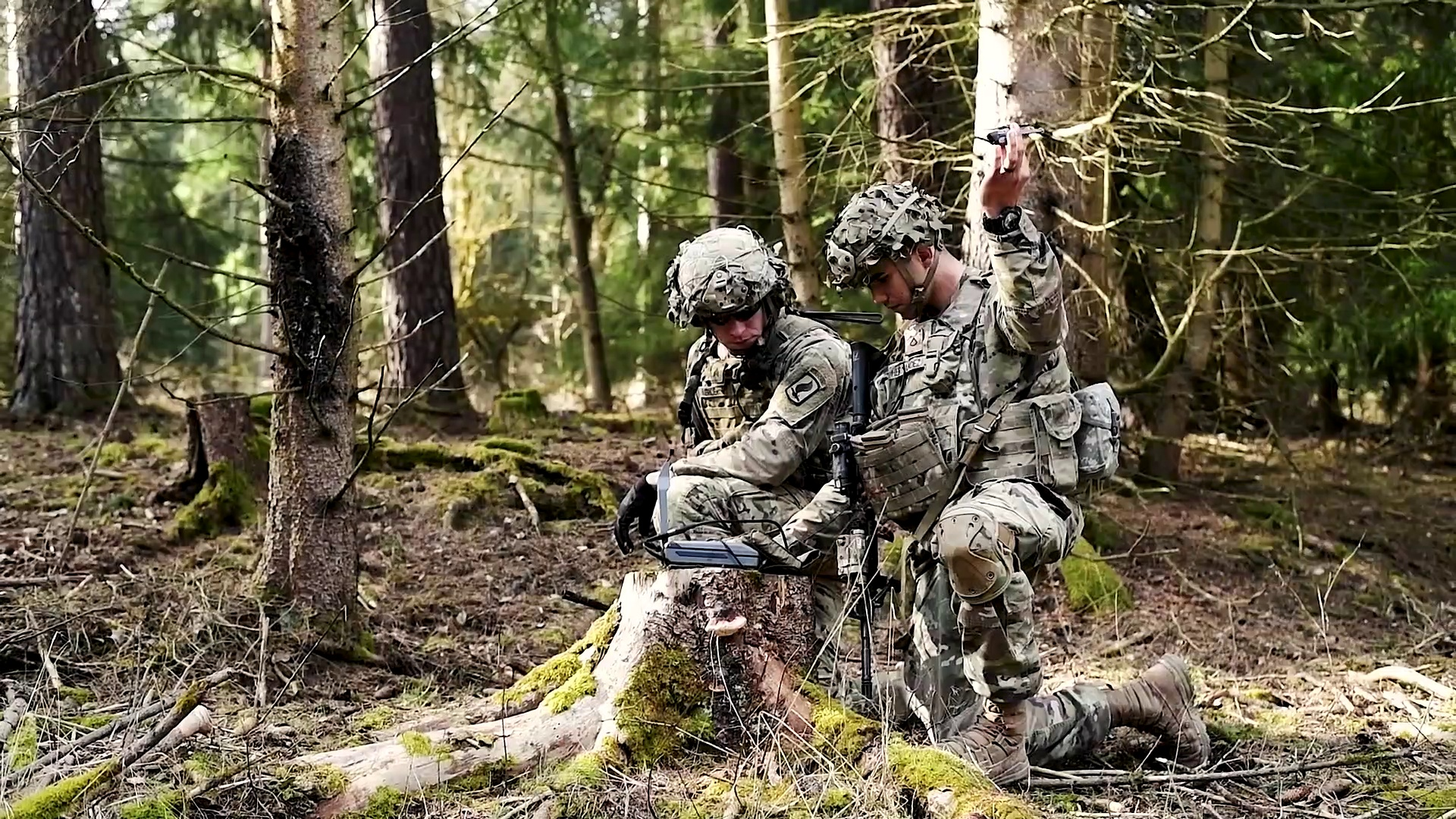 US Military News • Soldiers Participate in a Live Fire Exercise • Germany