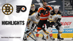 Bruins @ Flyers 4/6/21 | NHL Highlights