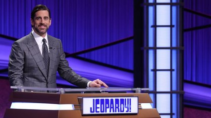 Aaron Rodgers hosted 'Jeopardy!' and got trolled about the NFC