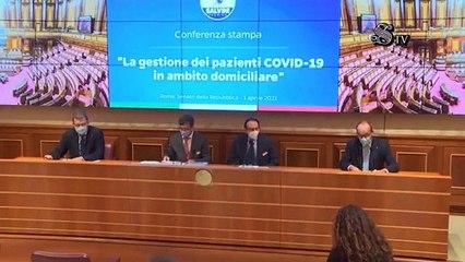 1 aprile 2021 – Senato-Conferenza stampa sulla gestione domiciliare dei pazienti  Audizione del Dr. Andrea Mangiagalli e del Dr. Paolo Allegri