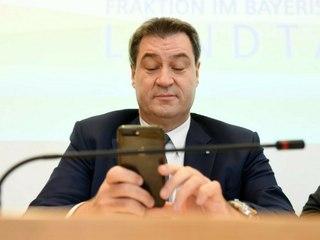 """""""Markus Lanz"""": Söder zitiert aus privater SMS von Laschet"""