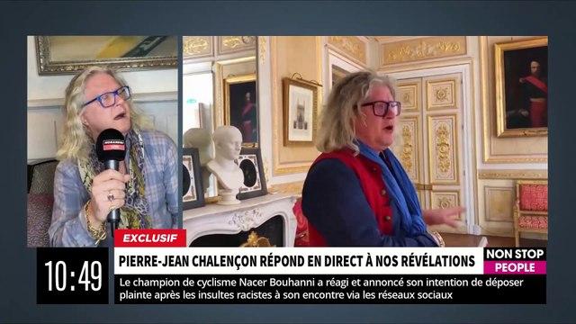 """EXCLU - Pierre-Jean Chalençon reconnait dans """"Morandini Live"""" finalement qu'il y a """"bien eu un événement avec au moins 20 personnes mais sans politique"""" - VIDEO"""