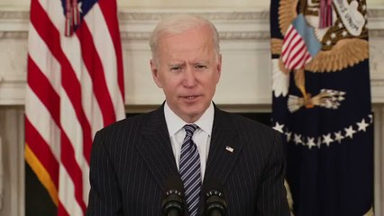 President Biden provides update on US vaccinations