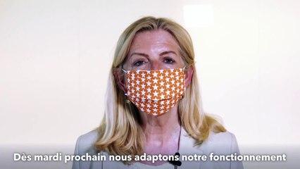 COVID : message de la Maire de Strasbourg, de la Présidente de l'Eurométropole et de la Présidente déléguée
