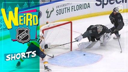 Weird NHL Shorts: Pt. 34   Recovering Goalies