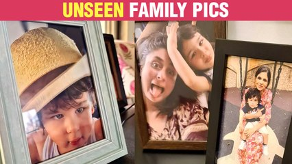 Kareena Kapoor's Son Taimur's UNSEEN Fun Family Photos Viral