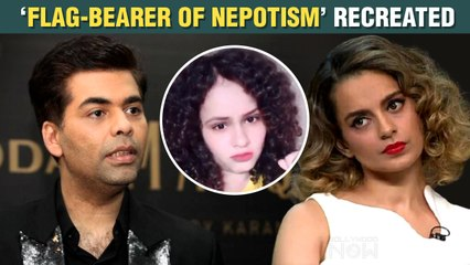 Kangana Ranaut Reacts As Fan Recreates Nepotism Moment From Koffee With Karan