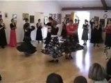 Sévillanes cours de danse  Rockamadour à Versailles