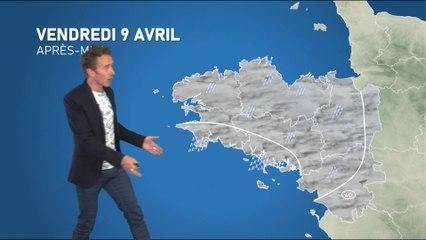 Illustration de l'actualité La météo de votre vendredi 9 avril 2021