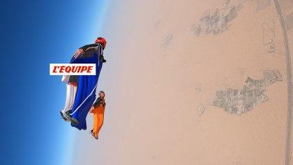l'entraînement des Soul Flyers à Dubaï - Adrénaline - Wingsuit