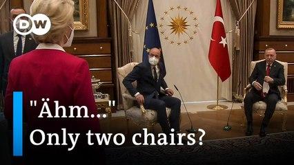 'Sofagate'- Brussels' anger over von der Leyen Turkey chair snub -