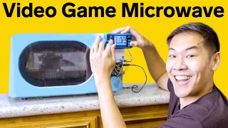Video Game Microwave That Only Cooks While I Play