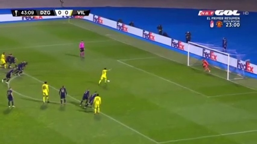Dinamo Zagreb - Villarreal 0-1, Highlights, 08.04.2021.
