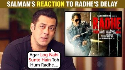 After Akshay Kumar's Sooryavanshi, Salman Khan's Radhe Gets Postponed! The Actor REACTS To The News