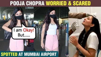 Covid- 19 | Pooja Chopra Extremely Worried For Paparazzi At Mumbai Airport Says, Please Take Care