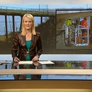Frustration over bro-kaos | Ingen udsigter til broåbning | Banedanmark | Kolding | 14-03-2013 | TV SYD @ TV2 Danmark