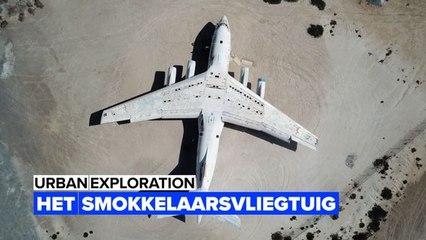 Urbex: Het vliegtuig van een wapensmokkelaar bij Dubai