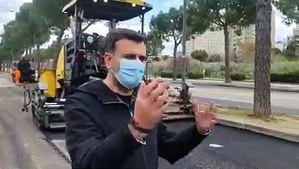 Bari: il Comune interviene sulle strade dissestate dalle radici degli alberi - video