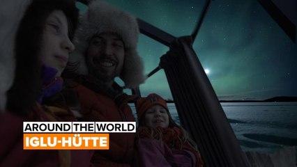 Around the world: ein Iglu in Schweden