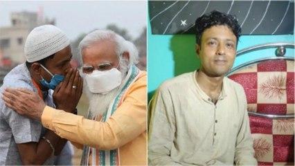 Zulfiqar Ali briefs what he told PM Modi in ear